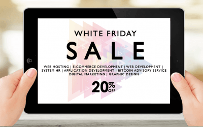 Prepare yourself – White Friday SALE is coming!