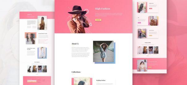 NatWeb Solutions fashion website
