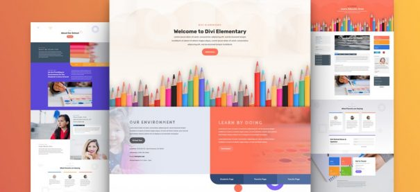 Nuersy/Elementary school website by NatWeb Solutions