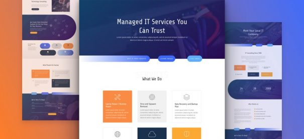 IT Services Company Website by NatWeb Solutions