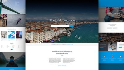 Photo Marketplace Website by NatWeb Solutions